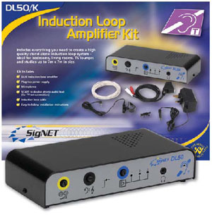 DL50/K Domestic Audio-Frequency Induction Loop Amplifier Kit