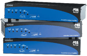 PDA Pro-Range Professional Induction Loop Amplifiers